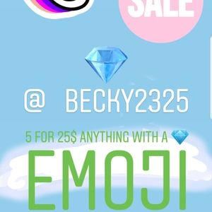 💎💎💎5 for $25 SALE